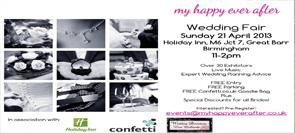 My Happy Ever After Wedding Fair