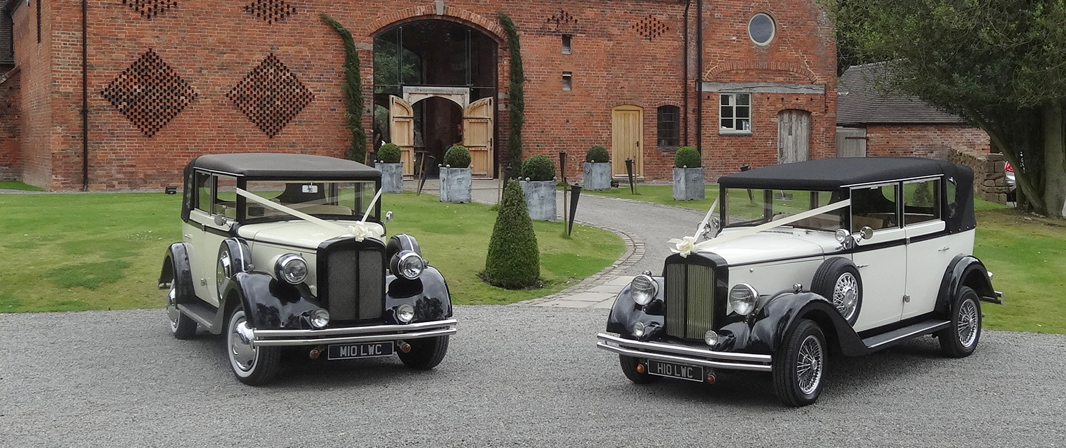 Wedding Car Hire in Sutton Coldfield, Lichfield and the West Midlands